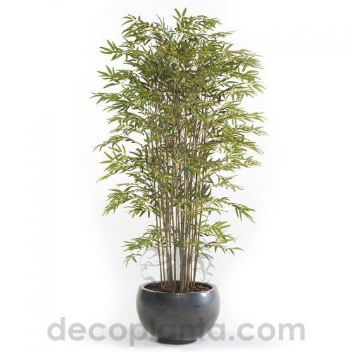 arbol bambú deluxe artificial para interior