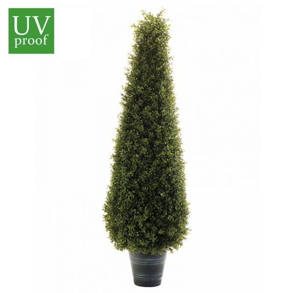 Árbol BOJ artificial para exterior con forma de CONO, DE 95 cm de altura, con protección UV