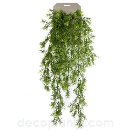 Planta colgante ASPARAGUS SPRENGERI artificial, o Helecho Espárrago
