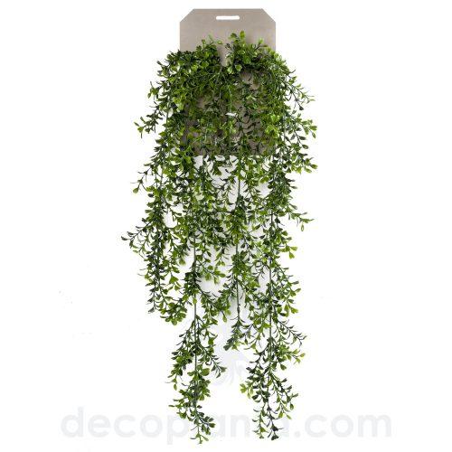 Planta Colgante artificial BOJ de 75 cm de largo