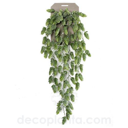 Planta Colgante artificial de LÚPULO, de 70 cm de largo