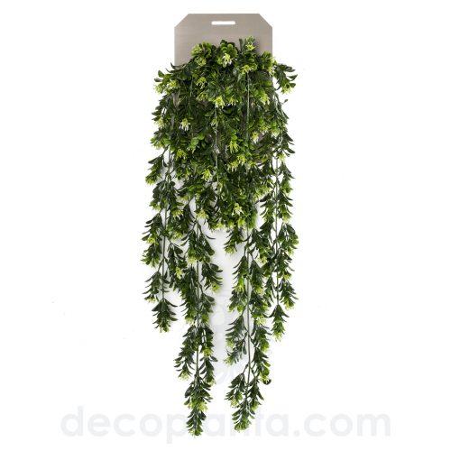 Planta Colgante artificial BOJ con bayas de 75 cm de largo