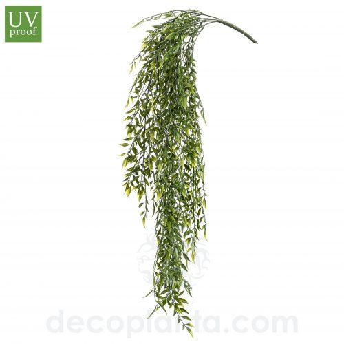 Planta colgante BAMBÚ artificial de 80 cm de largo. Con Protección UV