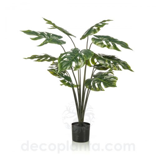 planta artificial PALMERA MONSTERA de 95 cm