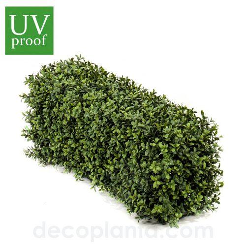 Seto de BOJ o planta Valla artificial de 25 cm de altura y 70 cm de largo