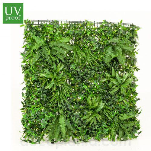 Jardín Vertical LIVING artificial con protección UV para exterior