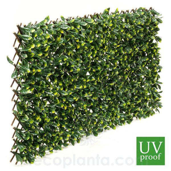 Seto PRUNUS tipo valla, con tratamiento específico UV para exterior. Se adapta a varias medidas