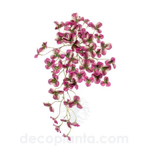 Arbusto colgante OXALIS VIOLETA artificial de 45 cm de altura