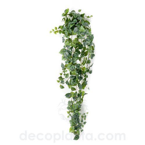 Arbusto colgante PHOTOS o SCINDAPSUS PICTUS artificial de 180 cm de altura.