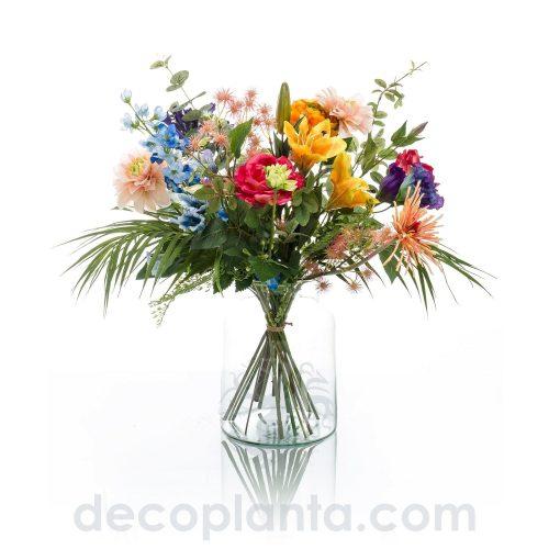 Ramo de flores artificial Conjunto floral para centro de flores o también como ramo, multi vegetación