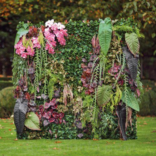 Diseña tu propio Jardín Vertical artificial con todas nuestras plantas